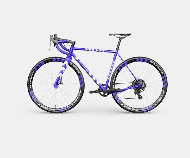 Realistische bike mockup