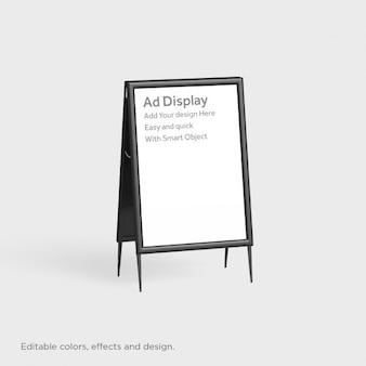 Realistische display design