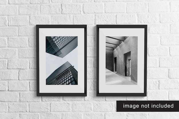 Realistische frame mockup