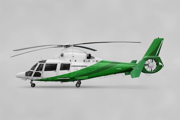 Realistische helikoptermockup