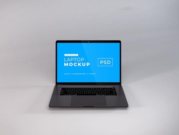 Realistische laptopmodel
