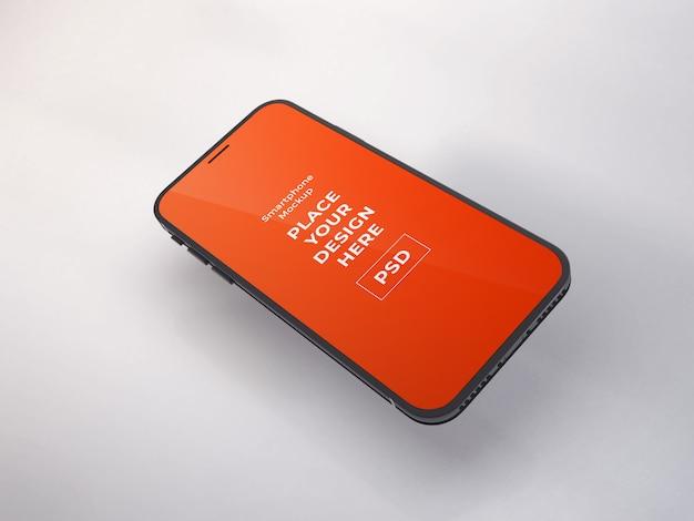 Realistische smartphone-mockup