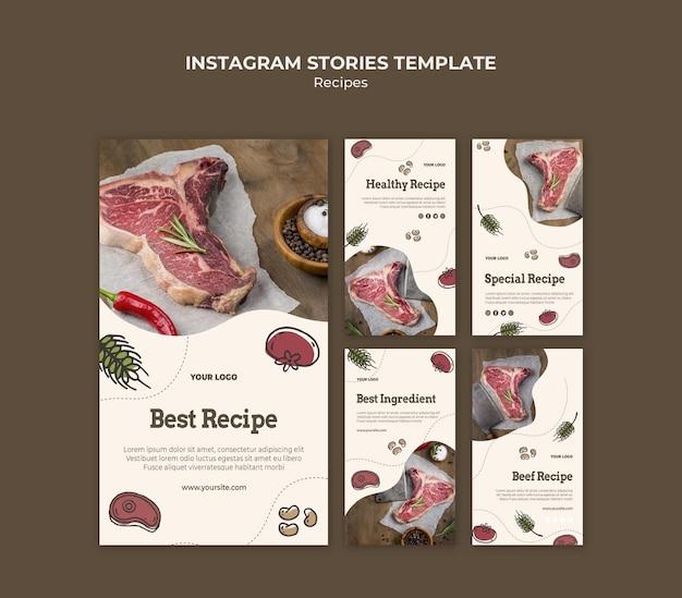 Recepten instagram-verhalen
