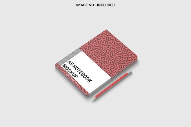 Rechthoek notitieboekje met ronde hoek