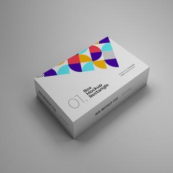 Rechthoekige doos mockup