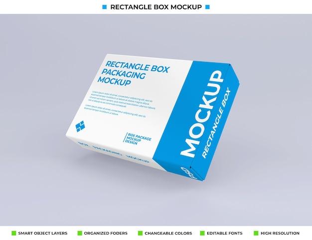 Rechthoekige doosmodel voor productverpakking