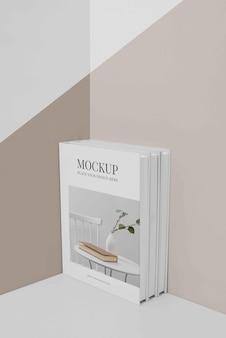 Regeling van mock-up boekomslag