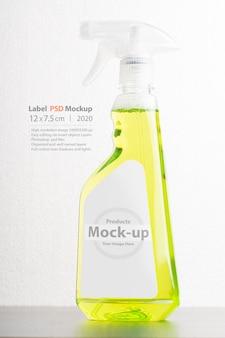 Reinigingsvloeistof fles