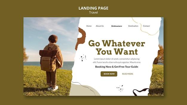 Reis de wereld websjabloon