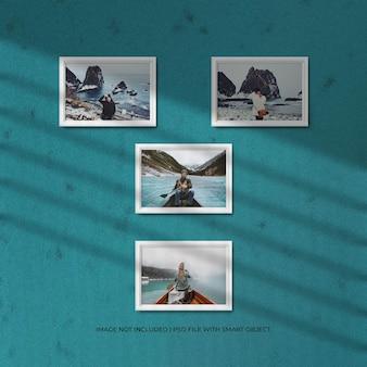 Reis fotolijst set mockup