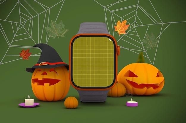 Reloj inteligente de halloween