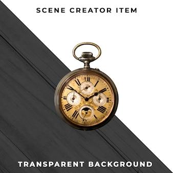 Reloj transparente psd