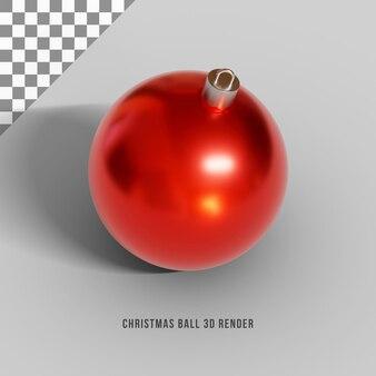 Render 3d de bola de navidad