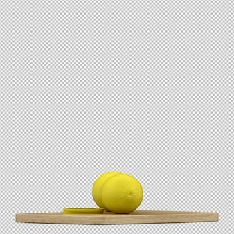 Render 3d de limones