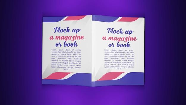Representación 3d para la portada del libro de maquetas