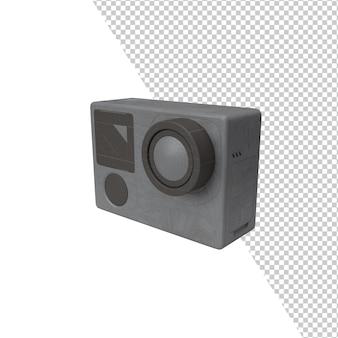 Representación aislada del bolsillo de la cámara digital