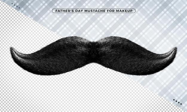 Representación del bigote del día del padre