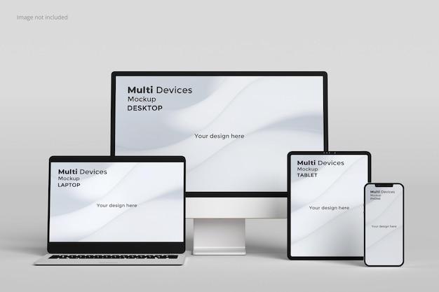 Responsief schermmodel voor meerdere apparaten