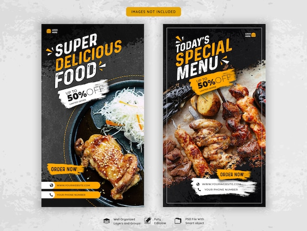Restaurante comida instagram historias