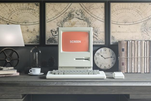 Retro computermodel