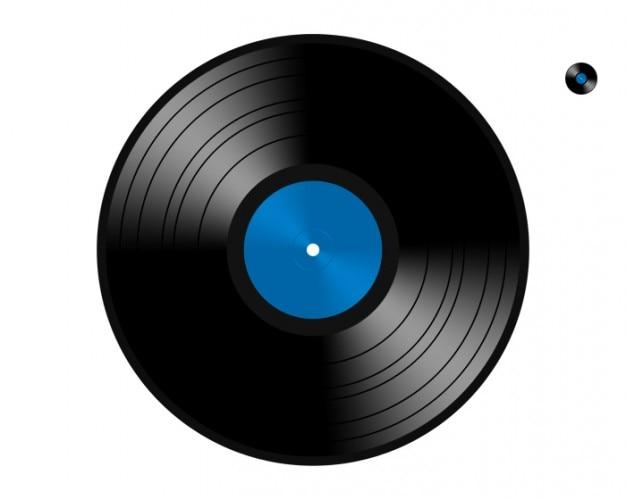 Retro lied disc plastic album