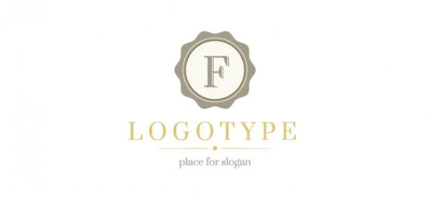 Retro logo modello di progettazione