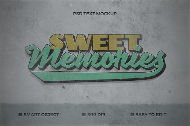 Retro tekstmodel