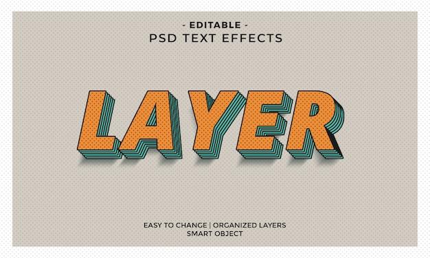 Retro vintage cool teksteffect