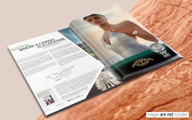 Revista psd maqueta