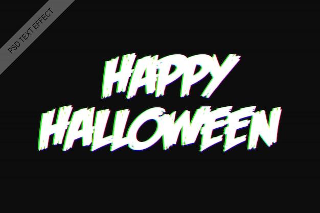Rgb-teksteffect halloween