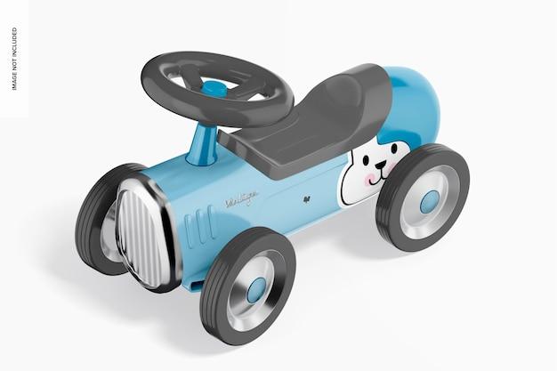 Rideon vintage speelgoedmodel perspectief