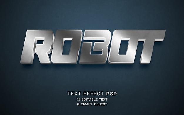 Robot de efectos de texto