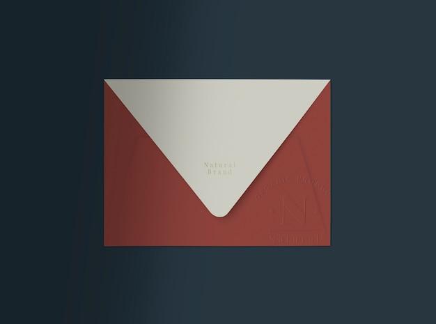 Rode envelop