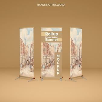 Roll-up banner-mockup