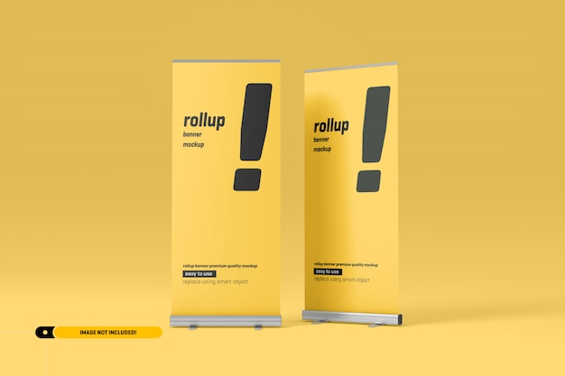 Rollup of x-banner mockup