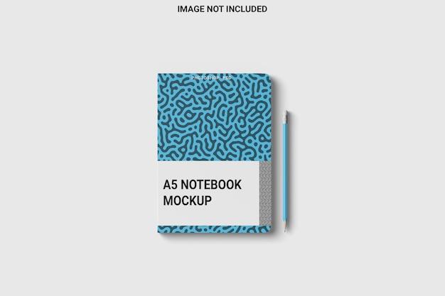 Ronde hoek notebook wrap vooraanzicht