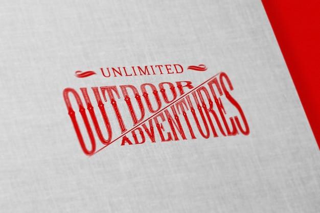 Rood logo mock up
