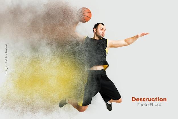 Rookverspreiding foto-effect
