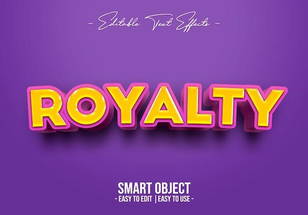 Royalty-tekststijleffect