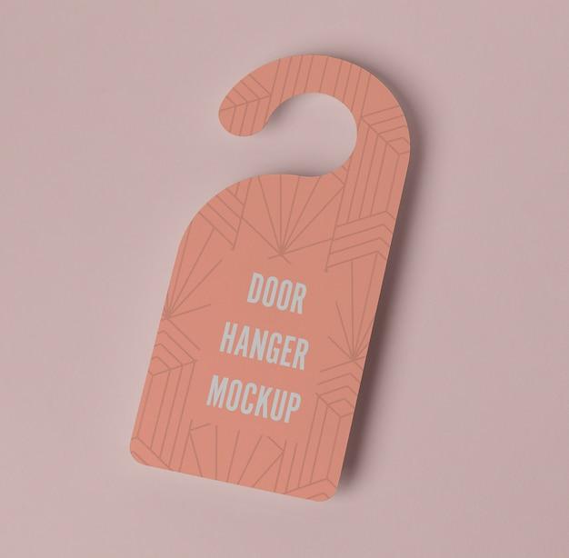 Roze deurhanger