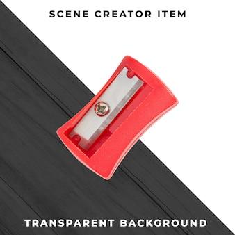 Sacapuntas objeto transparente psd