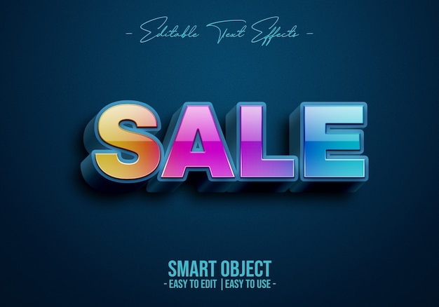Sale-text-style-effect