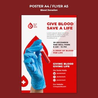 Salvar una plantilla de cartel de vida