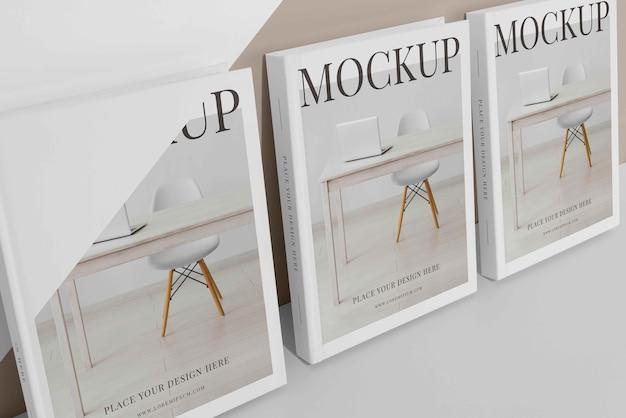 Samenstelling van mock-up boekomslag