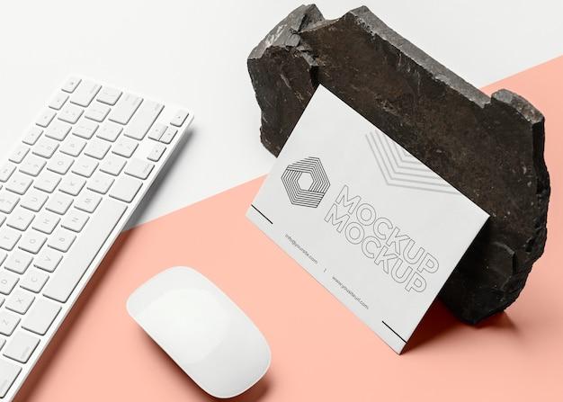 Samenstelling van mock-up merkbriefpapier