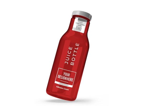 Sapfles mockup-sjabloon geïsoleerd Premium Psd
