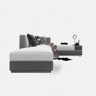 Scene creator fauteuil met kussens
