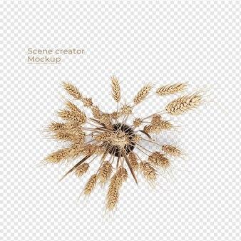 Scenes creator potplant bovenaanzicht decoratie ontwerp