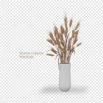 Scènes schepper potplant decoratie ontwerp
