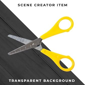 Schaarobject transparant psd